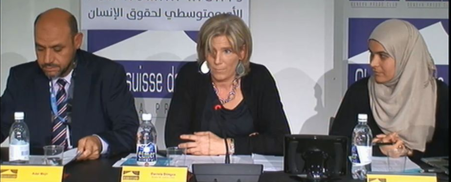 Press conference: Report on Israeli abuses caught on camera