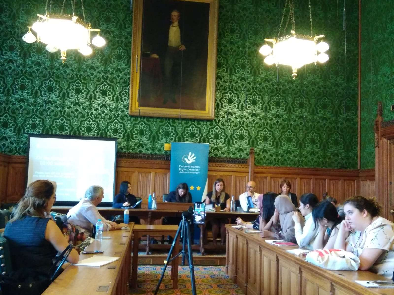 Euro-Med organizes seminar at UK parliament to address conflicts and women's rights in MENA region