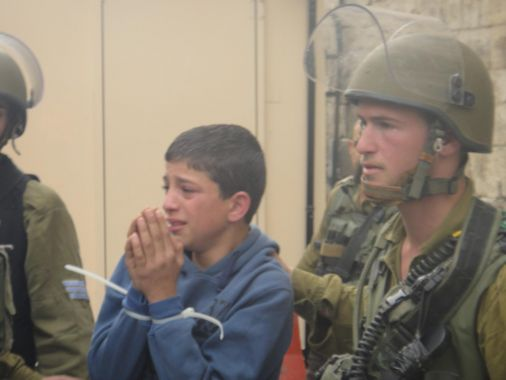The  Euro-Med Monitor: Israeli army increases detentions of Palestinian children by 80%