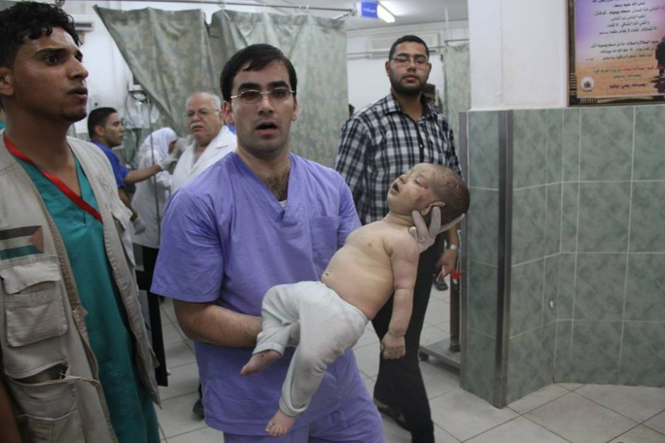 A child or a woman is killed every hour in Gaza